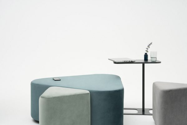 Executive Office H-Shaped Coffee Table